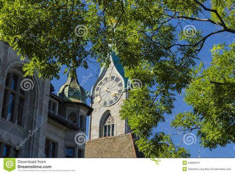 Landscape Architecture Zurich Zurich Switzerland Stock Photo Image 54956041