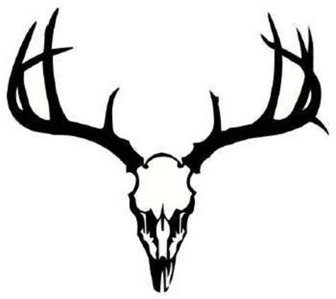 deer head deer antler clip art clipart best