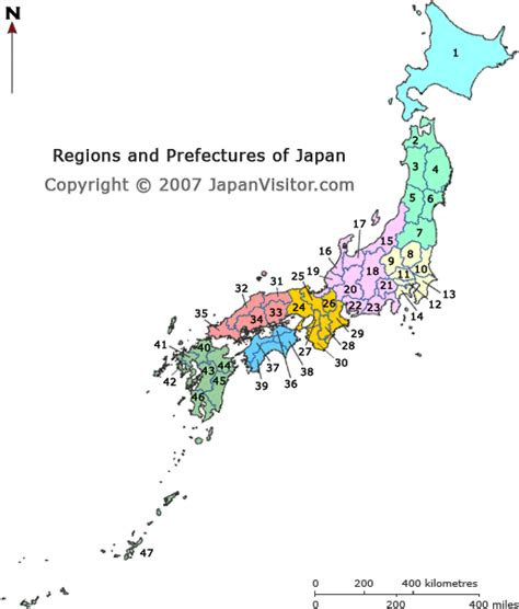 japan regions map japan prefectures map japanvisitor japan travel guide