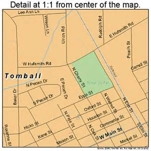 tomball map 4873316