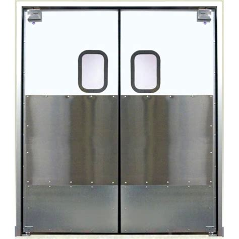 Lightweight Restaurant Kitchen Traffic Doors Restaurant Restaurant Kitchen Swing Doors