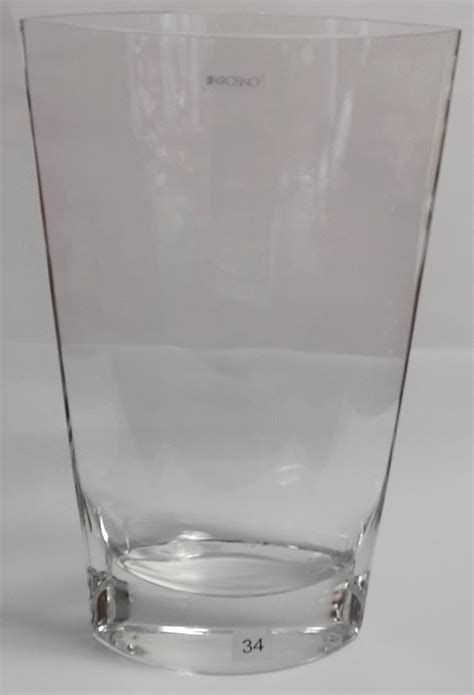 Krosno Vases by Krosno Large Clear Vase Simply Gifts