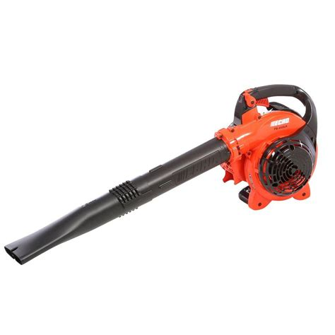 echo 65db a 191 mph 354 cfm low noise gas leaf blower pb