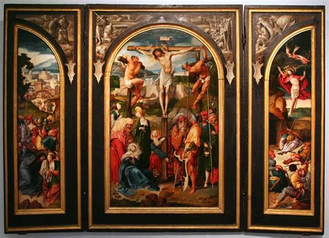file cornelis engebrechtsz triptych with the crucifixion