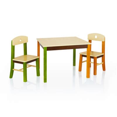 guidecraft childrens table and chairs guidecraft see and store table chairs set