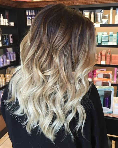 medium length hair for black tie blonde ombre hair color summer this is amazing when i