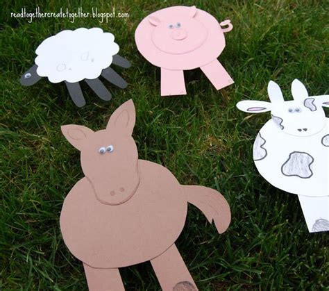 farm animal crafts for farm animal crafts storytime