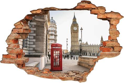 3d Sticker London by Stickers Trompe L Oeil 3d Londre Pas Cher