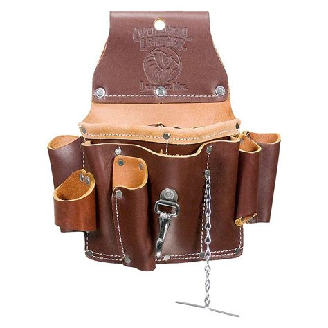 occidental leather 5500 electricians tool bag tester pouch