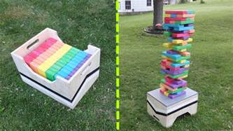Backyard Jenga 17 Diy For Outdoor Family Home Stories A To Z