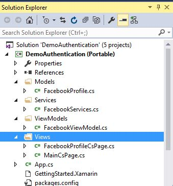 xamarin relativelayout tutorial xamarin forms oauth2 authentication by using plugin