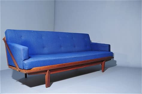 daybed sofa in solid teak by poul m volther room of