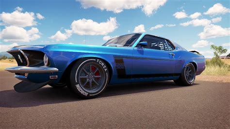 mustang horizon forza horizon 3 car builds and more 1969 ford mustang