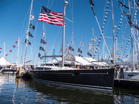 annapolis boat show annapolis boat quot festival quot grow sailing