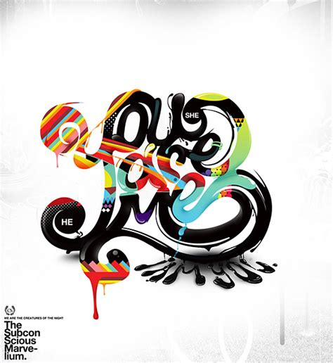 typography exles graphic design 27 creative typography designs and illustrations for your