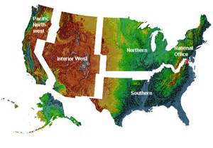 forest inventory and analysis national program regional