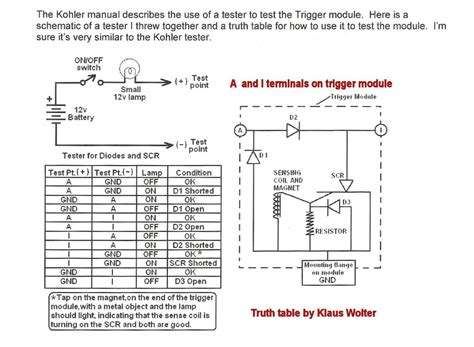 what does a horsepower resistor do kohler wiring schematic
