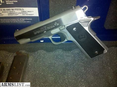 T Shirt Kaos Airsoft Colt Saa armslist for sale 1911 colt combat commander 45 acp model 04091u