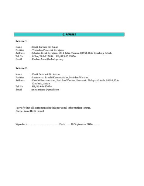 contoh resume in