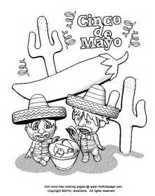 cinco de mayo coloring pages cinco de mayo printable coloring pages