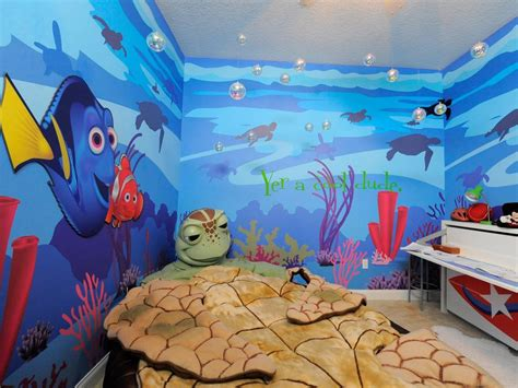 nemo themed bedroom decorating ideas for fun playrooms and kids bedrooms diy