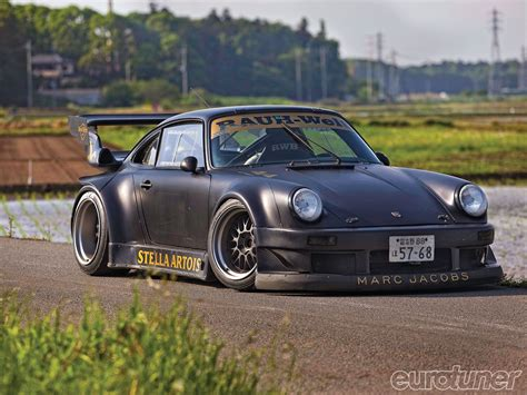 Rauh Welt Begriff Porsches Rough World Concept