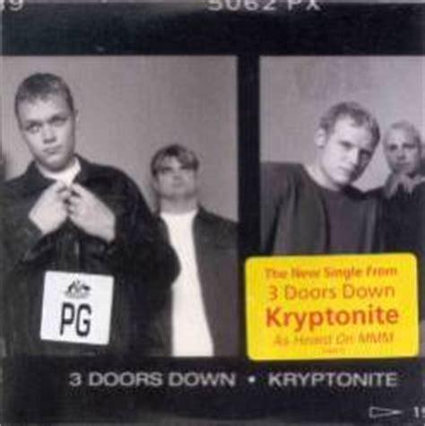 3 Doors Kryptonite Album by 3 Doors Kryptonite Mcd Album Spirit Of Rock
