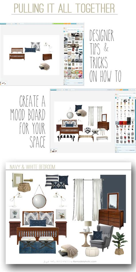 remodelaholic   create  mood board   space