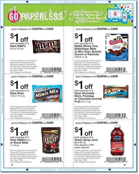 walgreens picture book i wags ad scans june 2015 coupon book 05 31 06 27