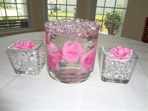 centerpiece ideas water beads ideas centerpieces