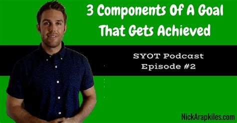 Divashop Podcast Episode 4 2 by 3 Components Of A Goal That Gets Achieved Syot Podcast Ep