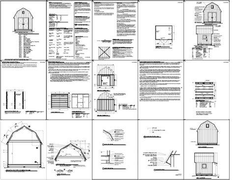 Free Shed Blueprints 12x20 by February 2015 Iswandy