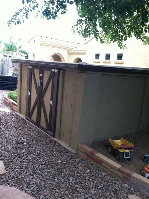 Shed On Cinder Blocks by Sheds Cinder Blocks And Ideas On