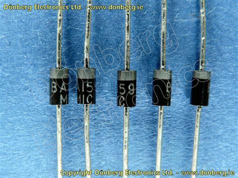 diode ba159 semiconductor ba159 ba 159 silicon diode 1000v 0 4a