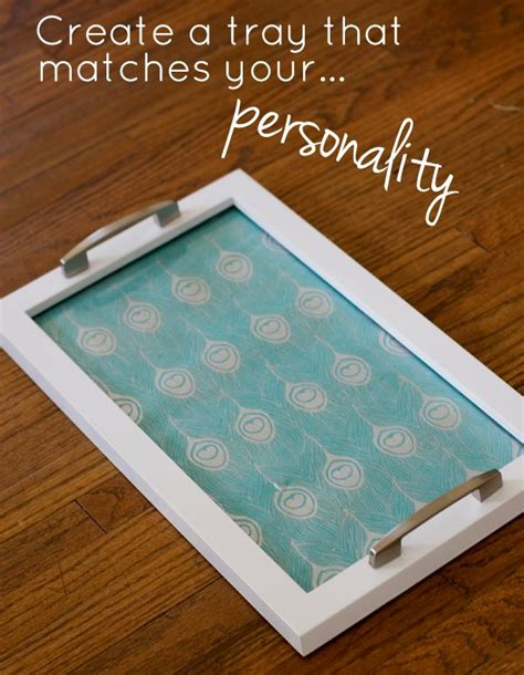 diy serving tray picture frame serving tray creative crafting pinterest