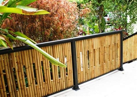 membuat jemuran bambu ツ 18 desain pagar bambu cantik nan unik minimalis