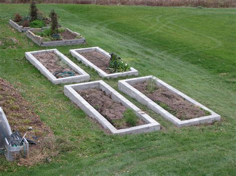 cinder block raised bed how to make a raised bed garden with cinder blocks home