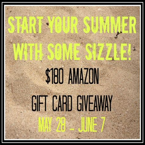 How To Win Amazon Giveaways - it s a giveaway enter to win a 180 amazon gift card suburble