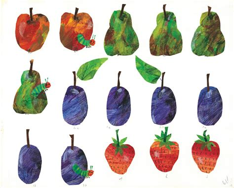 The Hungry Caterpillar Fruit Coloring Pages A Very Hungry Reader Humanities