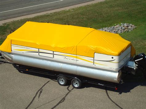 snap down pontoon boat covers boat recreation canvas craft