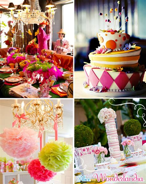 themed party alice in wonderland savannah s garden eye candy alert alice in wonderland