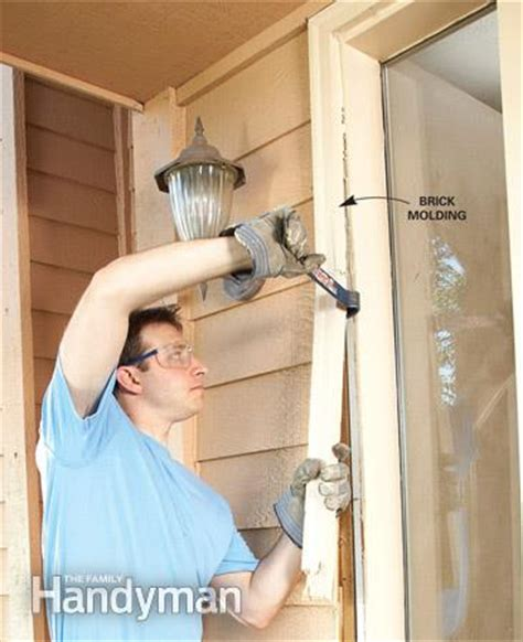 How To Install A Exterior Door How To Install A Door The Family Handyman