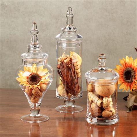 bathroom apothecary jar set aris glass apothecary jar set