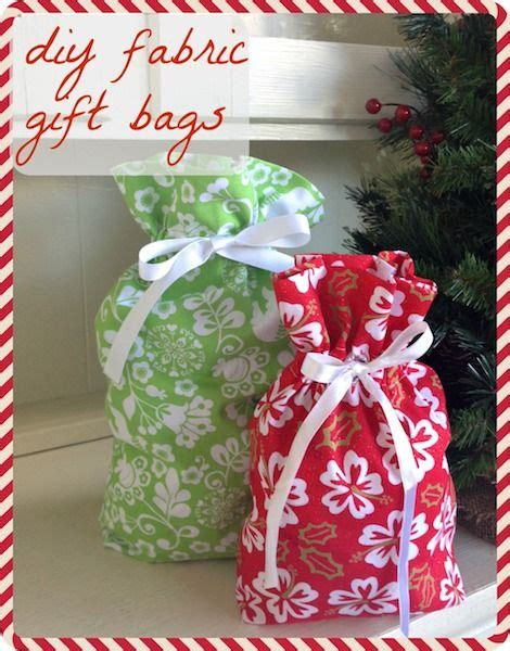 best 25 fabric gift bags ideas on pinterest drawstring