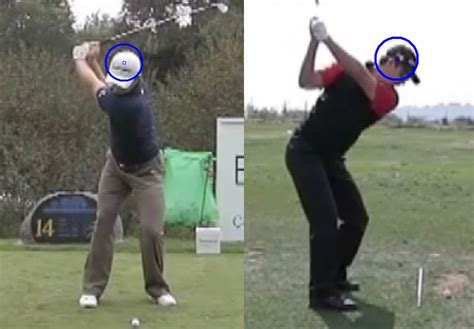 justin rose swing sequence justin rose swing face on