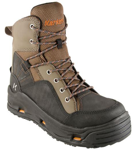 korkers wading boots korkers buckskin omnitrax interchangeable sole wading