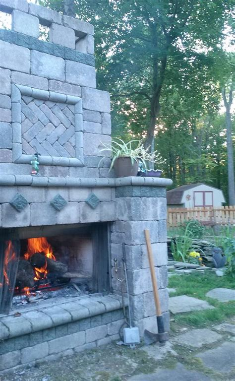 Fireplace Installation Contractors by Baron Landscaping 187 Outdoor Fireplace Contractor