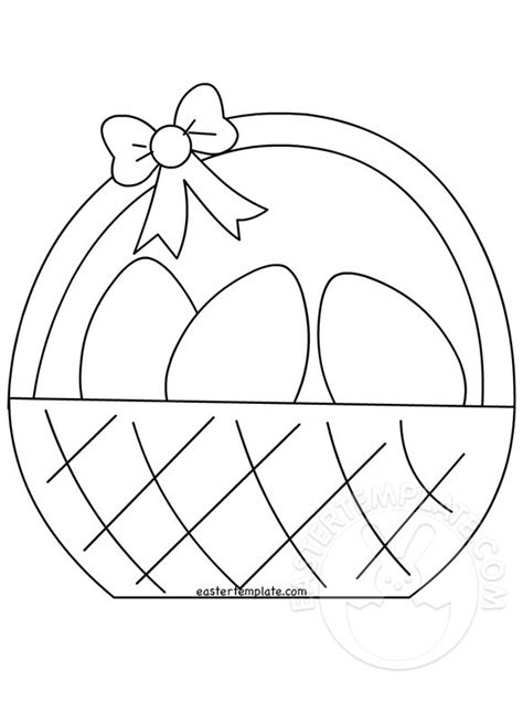easter basket template archivi easter template