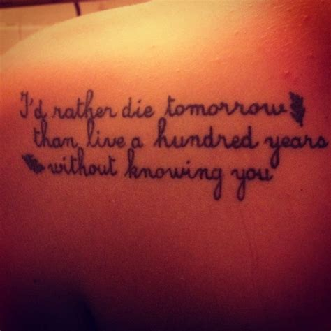 tattoo love movie 2015 pocahontas citation inspirant 47 tatouages citation qui