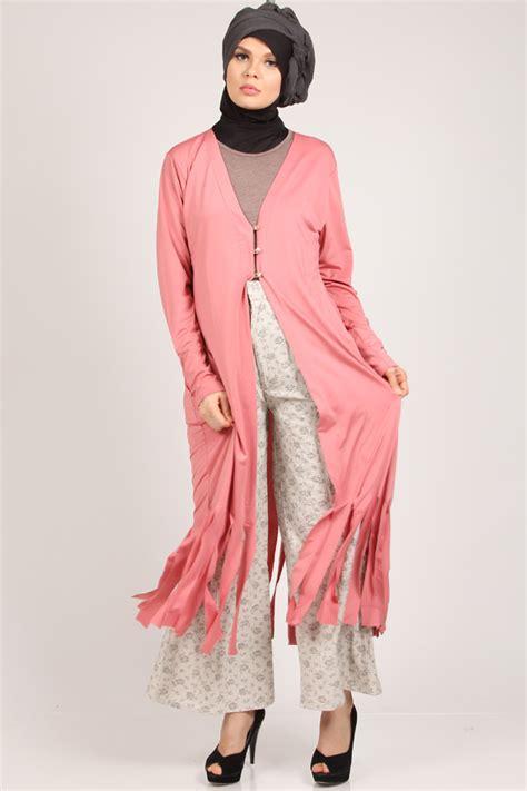 Fashion Terbaru 2016 Trend Baju Cardigan Panjang Wanita Muslimah Terbaru 2017